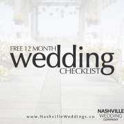 Nashville Wedding Company Free Wedding Checklist